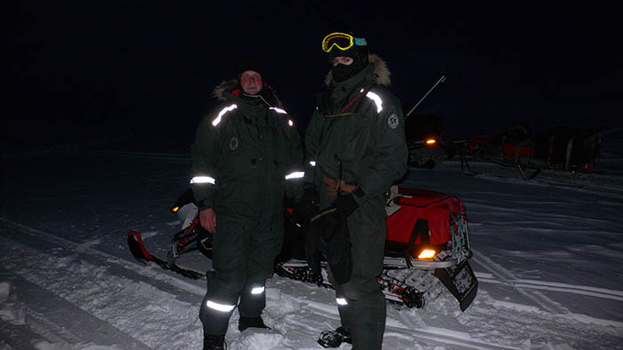 Auf Spitzbergen