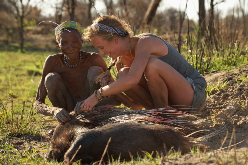 The Model and the Bushmen