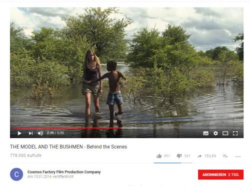Model Bushmen YouTube